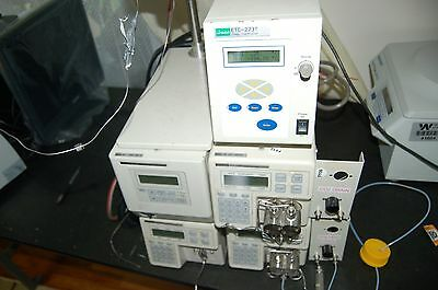 Jasco  PU-1586 UV- 1575 detector  pump HPLC  system  intelligent  BP-1580-81