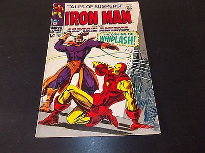 Tales of Suspense 97 VG/FN 1st appearance of Whiplash Silver Age Iron Man 1968