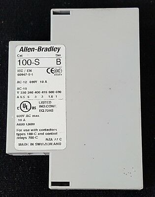 100-SB10 Allen Bradley Auxiliary Contact