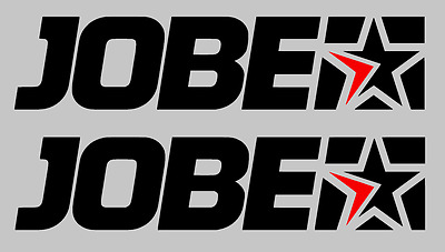 2 x LARGE JOBE  Stickers/Decals- Water Skiing/Kite-Surfing/Watersports