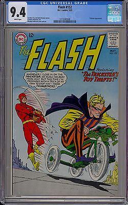 The Flash #152 (May 1965, DC), CGC 9.4, White pages