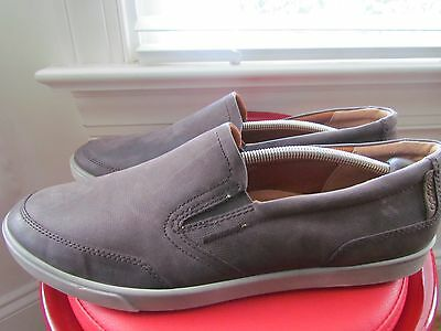 Ecco Brown Leather Men's Loafers Size 48 (European)