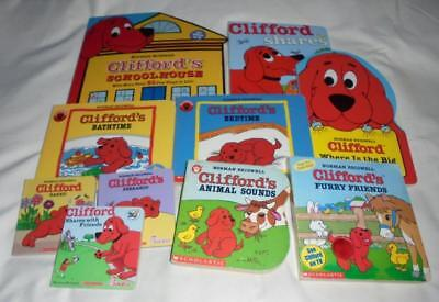 HUGE set of 10 Clifford board books by Norman Bridwell