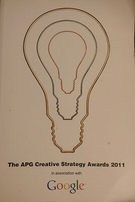 The APG Creative Strategy Awards 2011