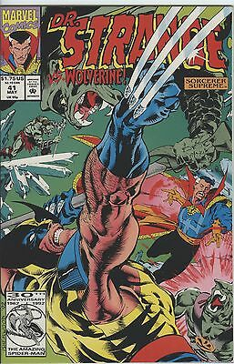 Dr Strange Issue 41 From 1992 By Marvel Comics Wolverine Appears