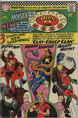 House of Mystery Issue 159 From 1966 Dial H For Hero Silver Age DC Comic