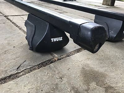 Thule Roof Bars 761 With Attached Foot Kit 163 13 96