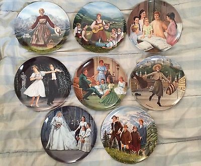 Complete Set ! Sound Of Music Collectors Plates