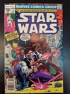 Star Wars #7 (1978, Marvel) Han Solo & Chewbacca Cover First Print - 1st Series