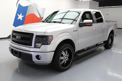 2014 Ford F-150  2014 FORD F-150 FX2 SPORT CREW 5.0 LEATHER NAV 22'S 49K #E79787 Texas Direct