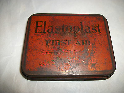 Vintage Tin. Elastoplast First Aid. Made in England