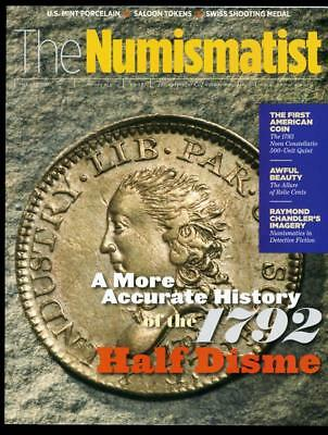 The Numismatist Coin Magazine August 2017 New