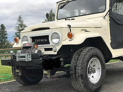 1967 Toyota Land Cruiser  1967 FJ40 Land cruiser