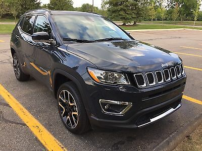 2017 Jeep Compass  2017 Jeep Compass Limited   2,500 miles