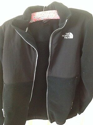 North Face Boys large - black - fleece
