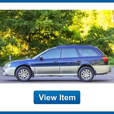 2003 Subaru Outback  2003 Subaru Outback AWD Wagon All Weather Low 73K Mi Serviced Loaded Rare!