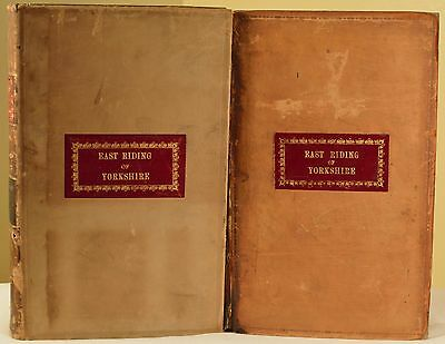 Rare 1911 & 1915 Antique English Law Report East Riding of Yorkshire London! WOW