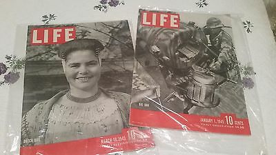 Life Magazine Vintage lot of 217 Issues 1938 - 1946 Look at List!