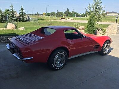 1972 Chevrolet Corvette Coupe 1972 CHEVROLET CORVETTE COUPE