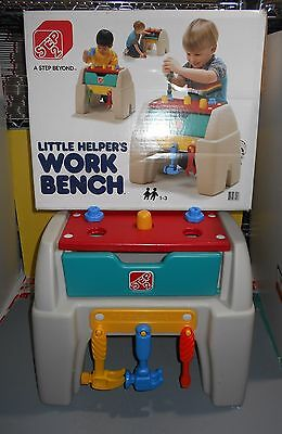 1990's Step2 Step 2 Little Helpers Kids Work Bench #7510 w/ Tools & Orig Box