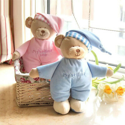 Baby Sleeping Toy Baby Soft Plush Pillow Lovely Cute Animal Bear Toy Soother New