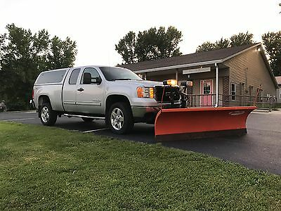 2011 GMC Sierra 2500 SLE 2011 GMC Sierra 2500HD With Curtis snow pro 8' snow plow