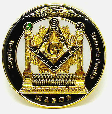 Masonic Family Nayelesis Master Mason Lapel Pin for the Freemason
