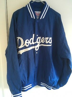 LA Dodgers Starter Diamond Baseball Jacket MLB Jersey Rare Vintage Collectible L