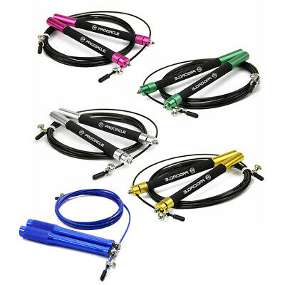 PROCIRCLE Ultra-speed Jump Rope Skipping Rope Dual Bearings Boxing Workout