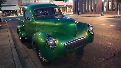1941 Willys pick-up  1941 Willys Pick up  gasser style,/street rods?hot rods/trucks
