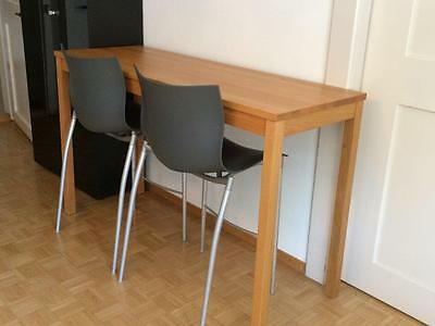 2 Philippe Starck 'Cam El Eon' Stool Chairs -- Grey -- by Driade