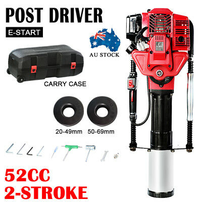 NEW Petrol Post Driver - 52cc 2-Stroke Pile Star Picket Rammer Fence PM95GPD
