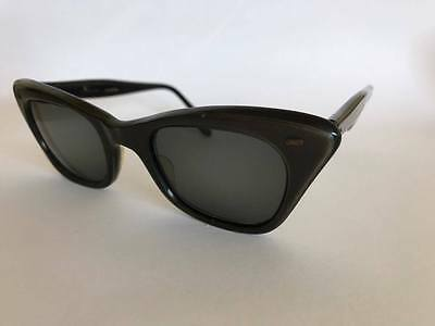 Vintage Retro Pin-up Rockabilly Cat Eye Ladies Sunglasses 1940's 1950's Horn Rim