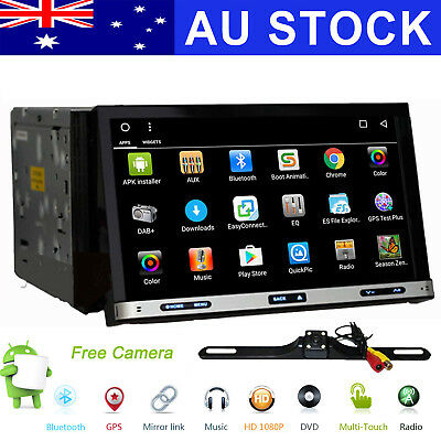 "7"" Android 6.0 Double 2DIN Car Stereo DVD Player Radio GPS NAV 4G WIFI Bluetooth"