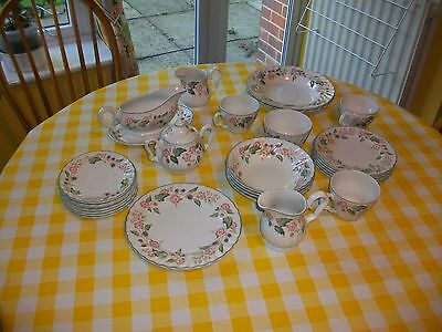 BHS Victorian Rose-( only, sauces,milk jugs , left)