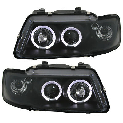 Angel Eyes Phares Set Audi a3 8 L Bj 09//00-05//03 Clair//Noir Rhd//LHD