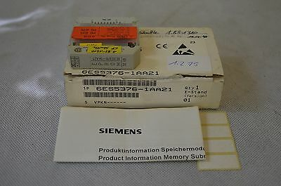 Siemens EPROM 32kB (No.: 6ES5376-1AA21) NEU!! OVP!! (unused) (1.275)