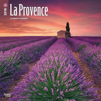 La Provence 2018 Wall Calendar by Browntrout NEW - Postage Included