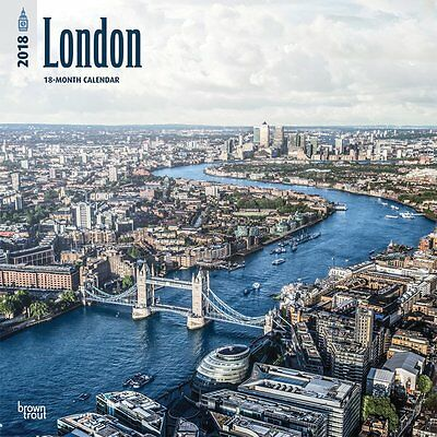 London 2018 Wall Calendar by Browntrout NEW - Postage Included