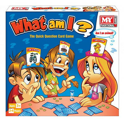 What Am I Card Game Guessing Board Game Family Fun Party Toy Childrens Home New