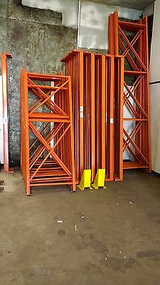 Redirack Pallet Warehouse Uprights 2.4m x 900mm Qty 15 - THE PRICE IS FOR 15
