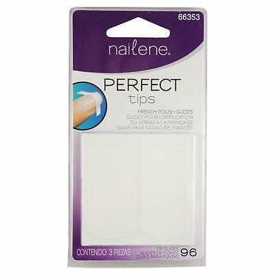 Nailene Perfect Tips French Polish Nail Manicure High Quality Sticker 96 Guides
