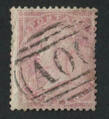 GB Used in Br. Honduras Z2 1857 4d Rose fine used with A06 of Belize