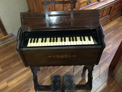 Antique wood pump organ Pickup Penrith