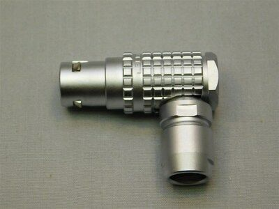 LEMO FHG.2B.312.CLAD62 12Pos Male Right Angle Connector 5.3-6.20mm Cable Size