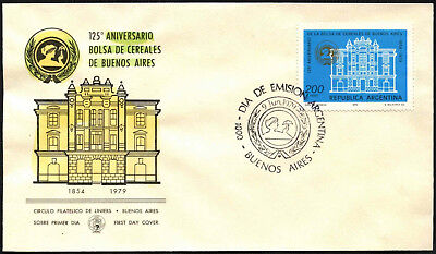 Argentina 1979 Wheat Exchange FDC First Day Cover #C43352