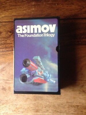 The Foundation Trilogy Box Set (UK 3 p/bs.1979) Isaac Asimov In Slip Case Sci-Fi