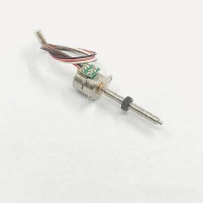 DC 5V 12V 2-phase 4-wire Mini 15mm Full Metal Gear Stepper Motor Micro Gearbox