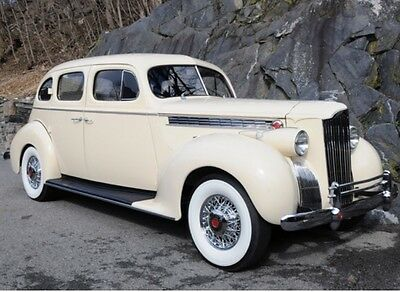 1940 Packard 110  1940 Packard Model 110 - Concours Level Restoration, Highway Drivable