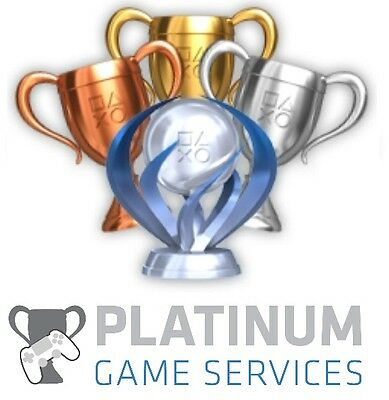 Playstation PS3 PS4 PS Vita Platinum Trophy Service Japanese Collection 2